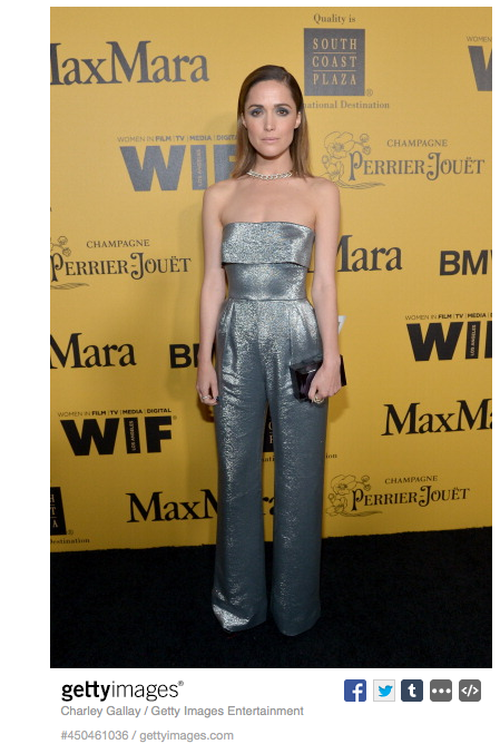 Picture-Rose-Byrne-Max-Mara-Silver-Jumpsuit