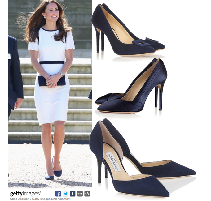 Kate-Cream-Navy-Jaeger-Dress