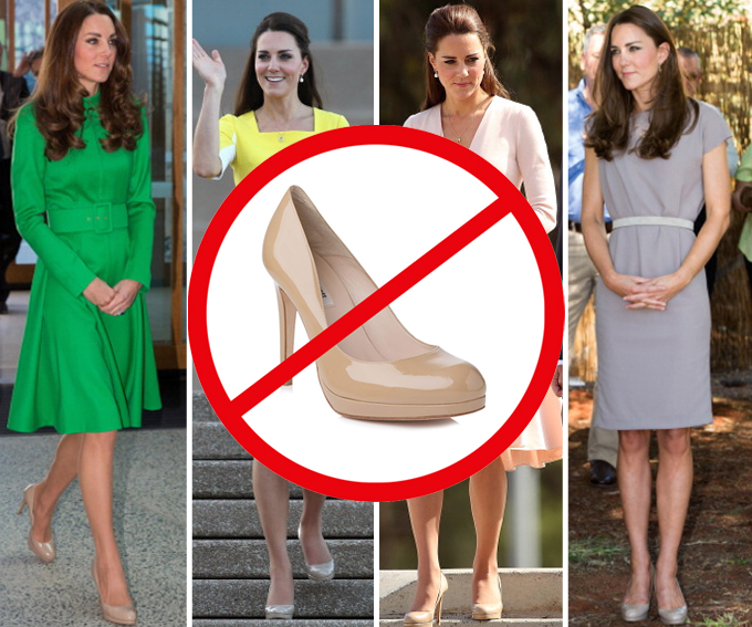 57e4dc804325 The 20 Times Kate Middleton Needed a Better Shoe - The Dress DownThe ...