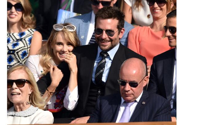 Suki-Waterhouse-Bradley-Cooper-PDA-Wimbledon