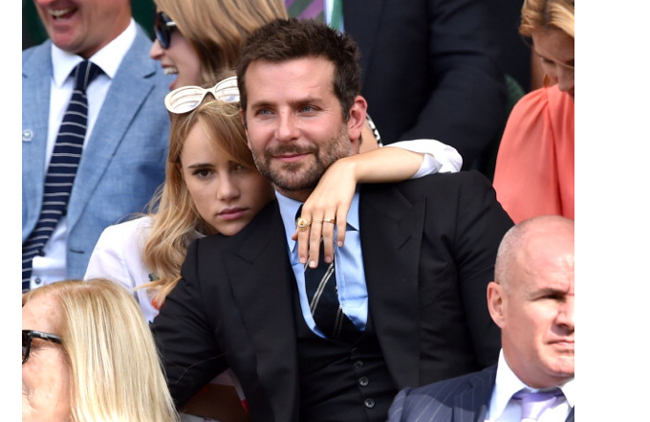 Wimbledon Fashion  Game  Set and Try to Suki WaterhouseBradley Cooper And Suki Waterhouse Pda