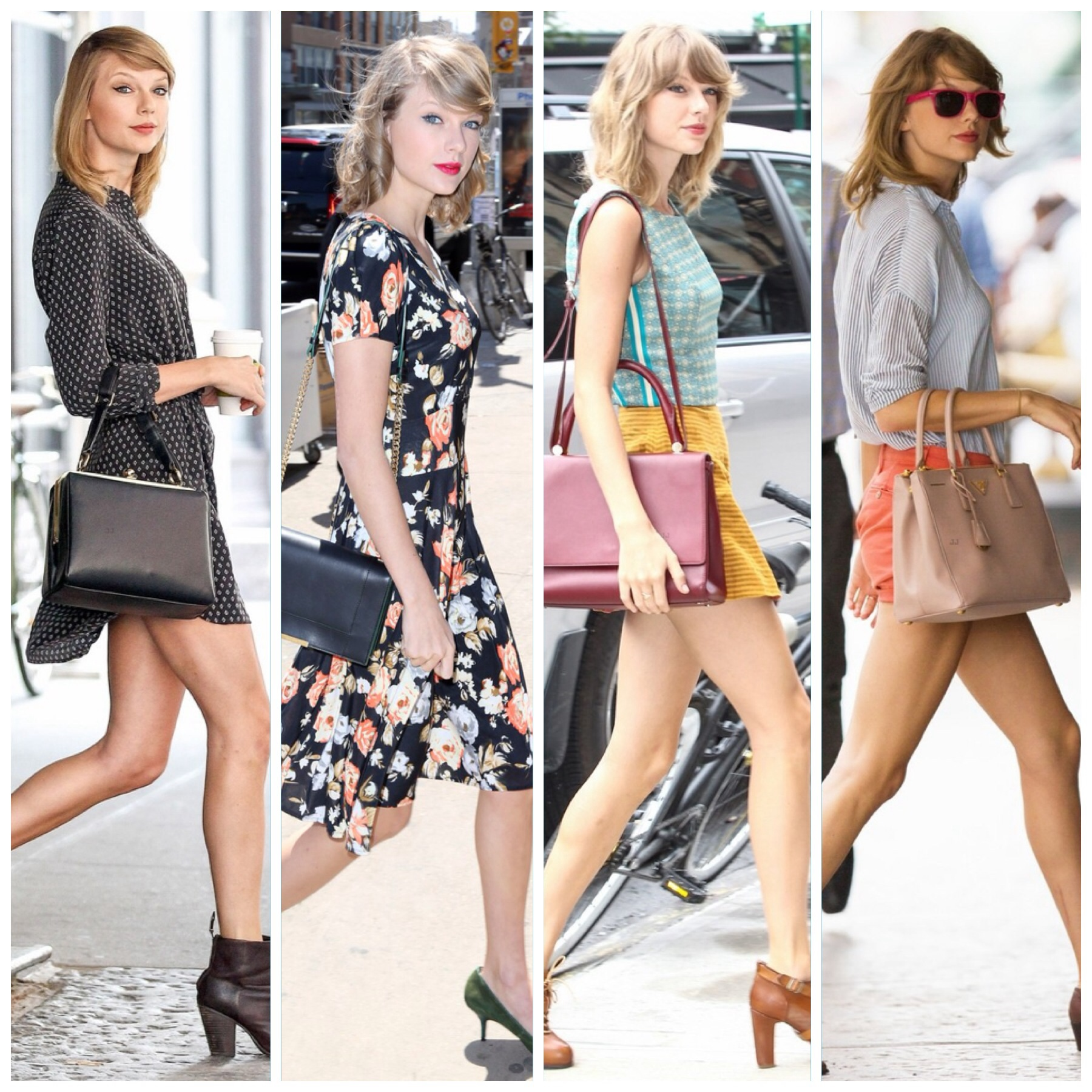 The Many Looks Taylor Swift Wore To The Gym This Summerthe
