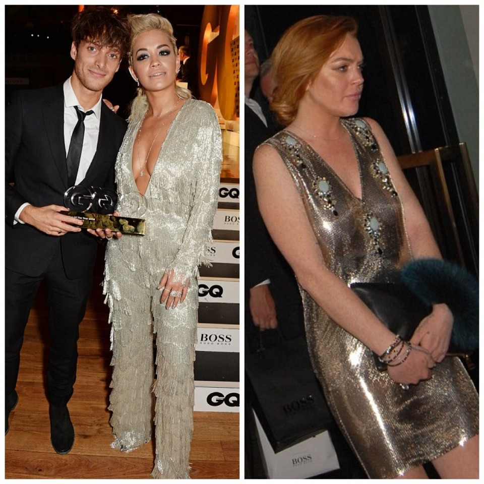GQ-Awards-Fashion-Rita-Ora-Lindsay-Lohan