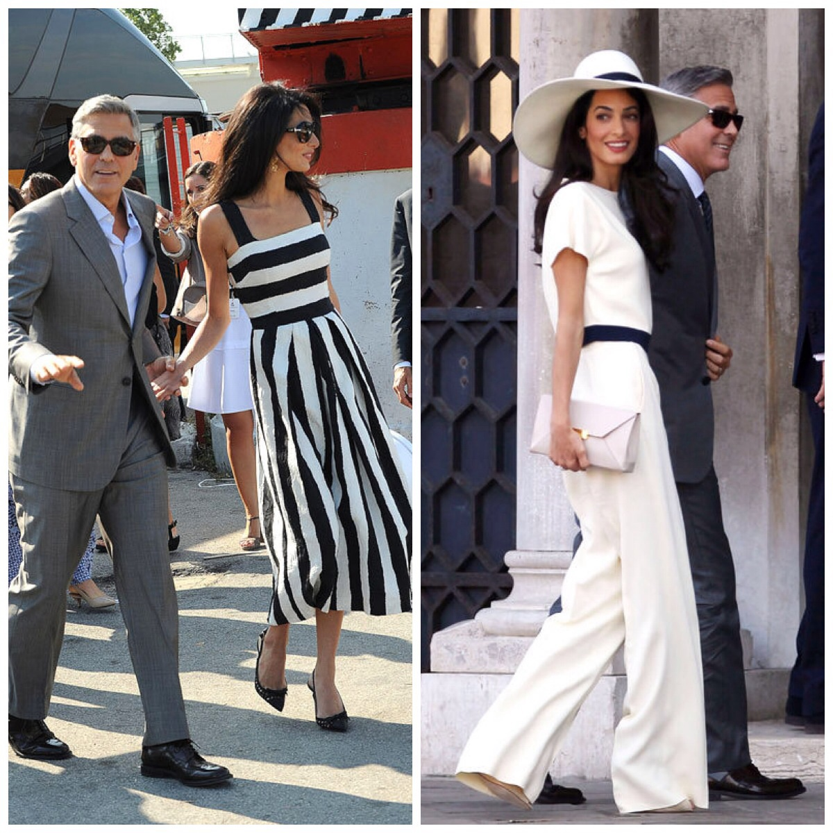 The Spectacle That Was George Clooney S Wedding The Dress Downthe Dress Down