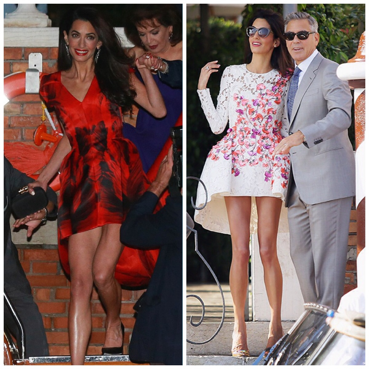 d91d651dd9f The Spectacle that was George Clooney s Wedding - The Dress DownThe ...